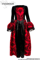 UNDERWRAPS Women's Eternity Vampire Queen Ball Gown - Small