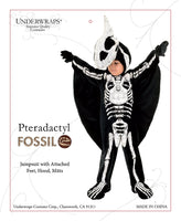 Underwraps Pterodactyl Fossil Toddler Childs Halloween Costume