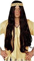 Franco Long Hippie Wig with Headband