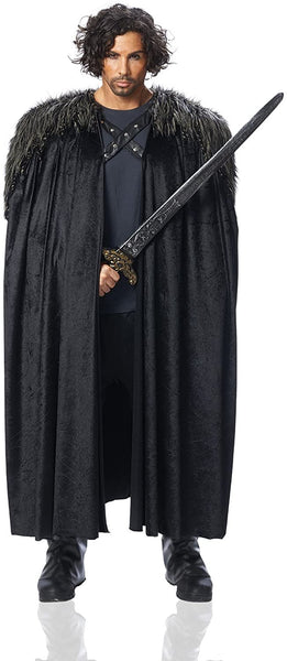 Costume Culture Men's Big Medieval Cape Adult Deluxe