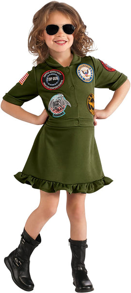 Top Gun, US Navy Flight Dress Costume, Large