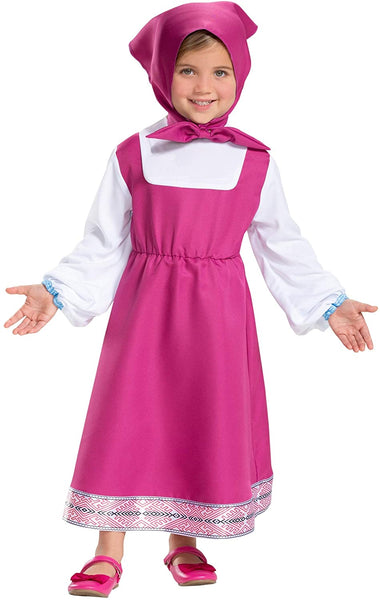 LF Centennial Pte. Girl's Masha and The Bear: Masha Costume 3T/4T Pink