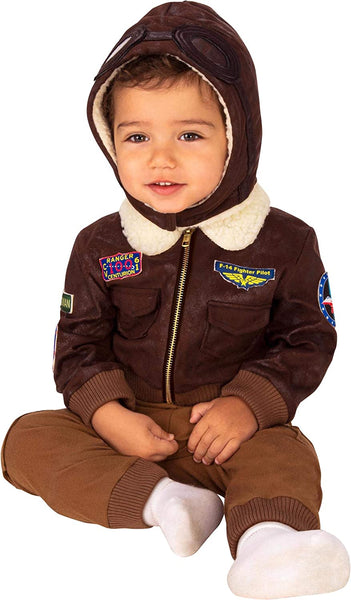 Rubie's Baby Aviator Costume, As Shown, Infant