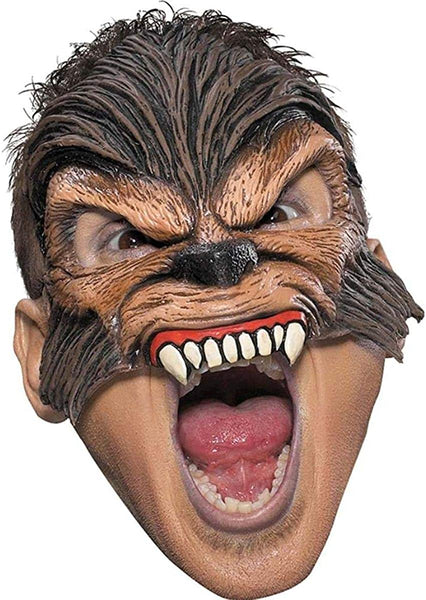 Disguise Wolfman Werewolf Halloween Costume Adult Scary Mask