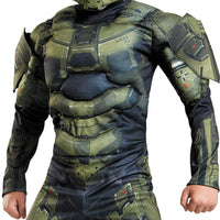 Master Chief Classic Muscle Costume, Large (10-12)