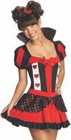 Rubie's Queen Of Hearts Teen Costume, Medium