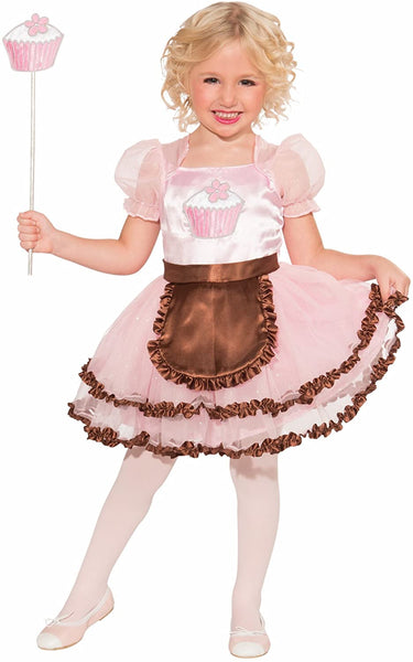 Cupcake Princess Child Costume, Small