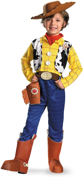 Disguise Woody Disney Toy Story Kids Cowboy Halloween Costume