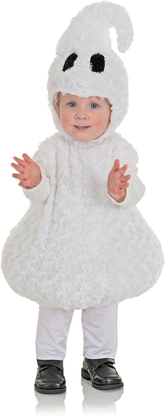 Underwraps Toddler's Halloween Ghost Belly Babies Costume
