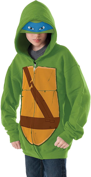 Teenage Mutant Ninja Turtles Leonardo Hoodie Costume
