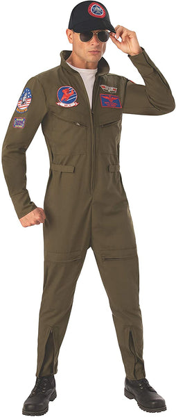 Rubie's Costume Top Gun Deluxe Mens Adult Costume