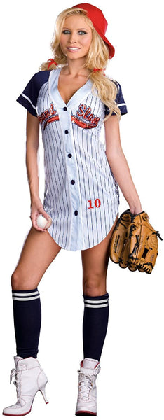Dreamgirl Women's Grand Slam Baseball Costume