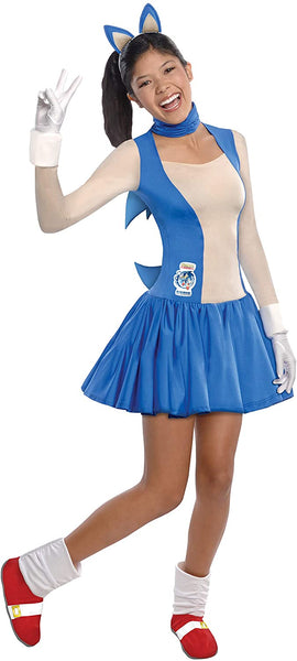Rubie's Costume Sonic The Hedgehog Dress and Accessories