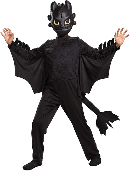 Toothless Classic How to Train Your Dragon Child Costume