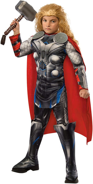 Deluxe Thor Kids Costume - Small Grey