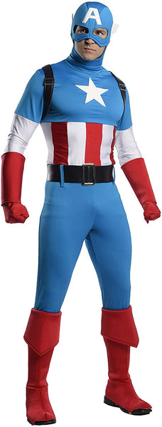 Captain America Marvel Comics Costume for Men