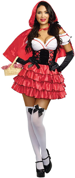 Dreamgirl Women's Red Riding Hood Costume
