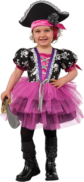 Rubie's Pirate Princess Child's Costume, Toddler