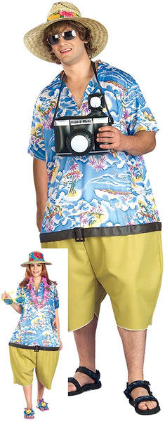 Forum Novelties Unisex Fun Tropical Tourist Costume