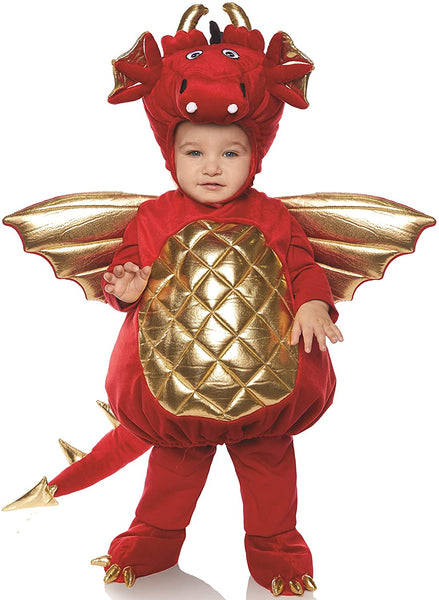 Underwraps Dragon Boys Toddler Red Belly Baby Costume