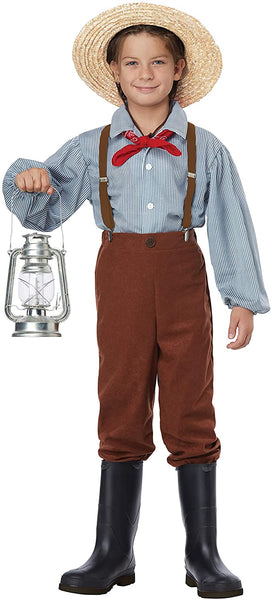California Costume Pioneer Boy Costume