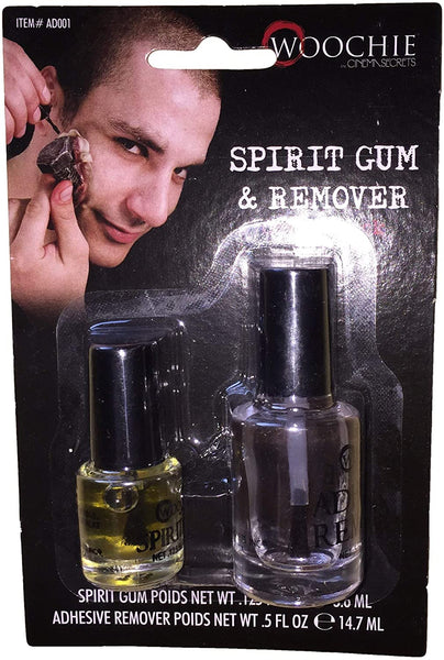 Costumes For All Occasions Spirit Gum With Remover Carded