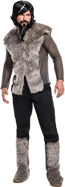 Rubie's Men's Zoolander 2 Derek Faux Fur Coat Costume