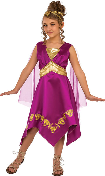 Rubie's Costume Child's Grecian Goddess Costume, Medium, Multicolor