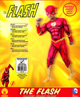 Rubies DC Comics Deluxe Muscle-Chest The Flash Costume