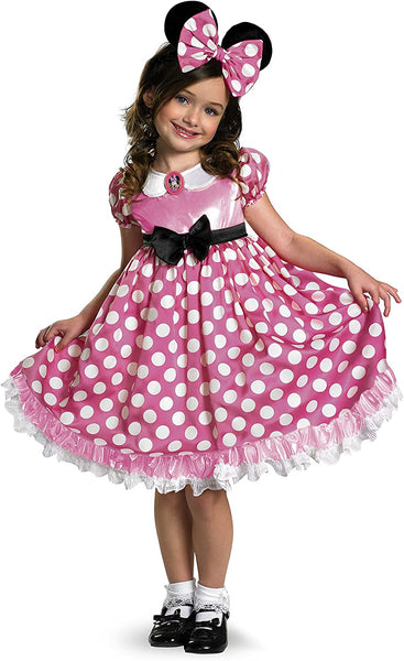 Disney Minnie Mouse Glow in The Dark Girls' Costume