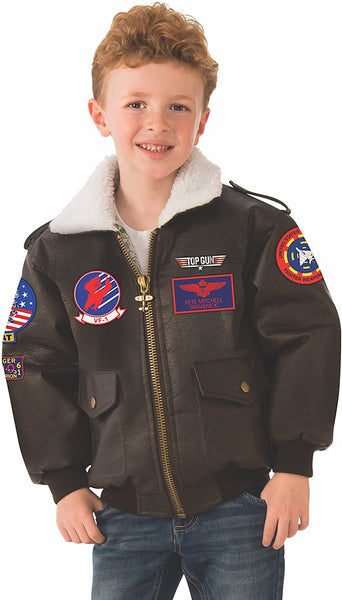 Rubie's Top Gun Child's Costume Bomber Jacket