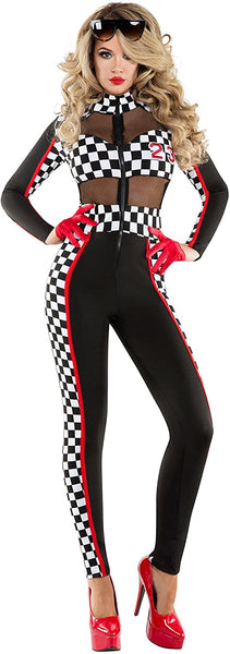 Starline Racy Racer Sexy Catsuit Womens Costume