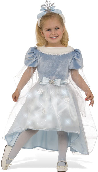 Rubie's Costume Child's Winter Princess Costume, Medium, Multicolor