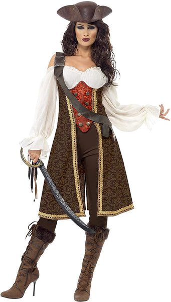 Smiffy's Women's High Seas Pirate Wench Costume
