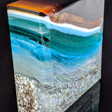 Amber Waves - Glass Sculpture