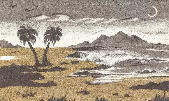 Maui Moon - Sand Tapestry