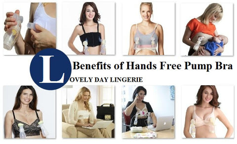 Benefits of Hands Free Pump Bra