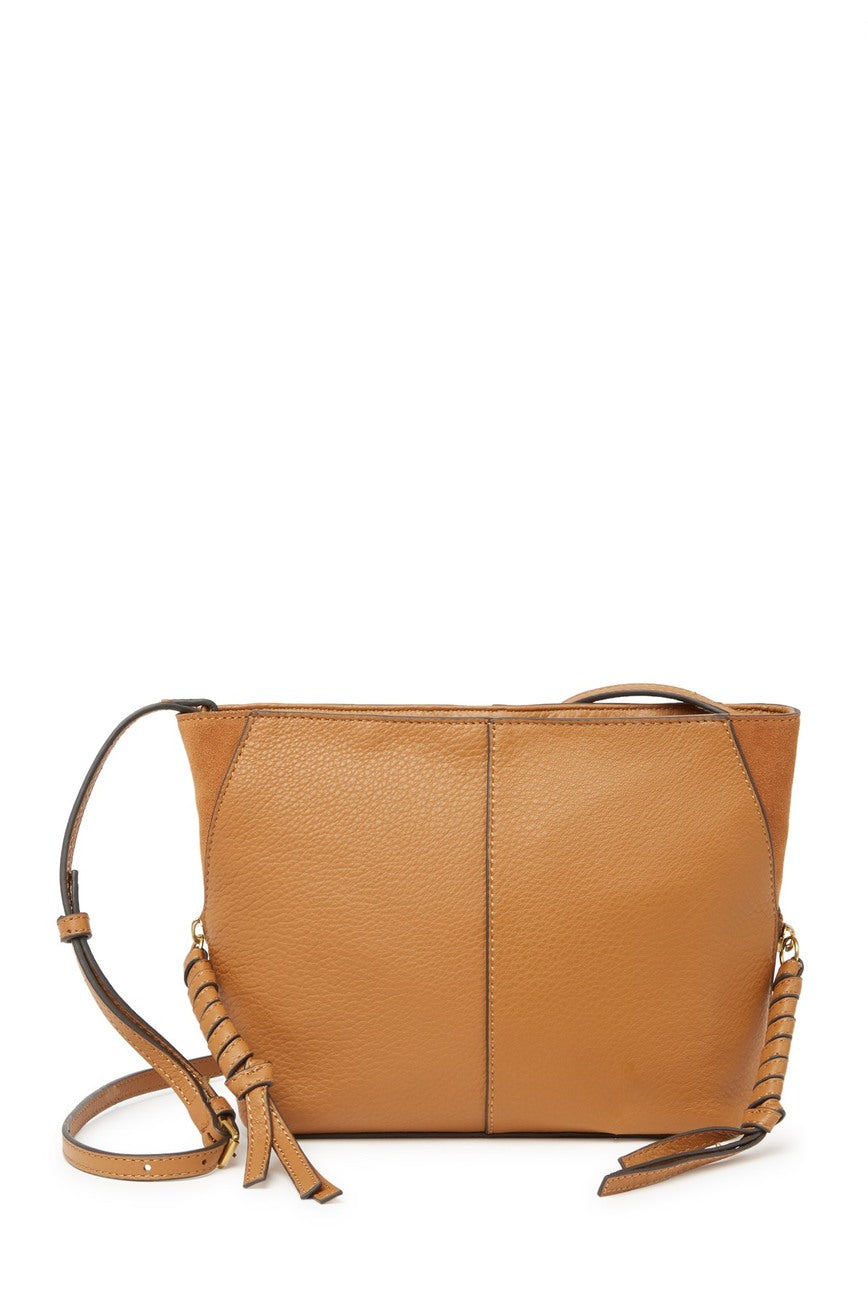 Cory Leather Crossbody Bag (Dandelion)