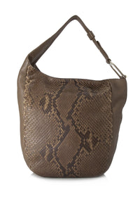 Python Leather Greenwich Shoulder