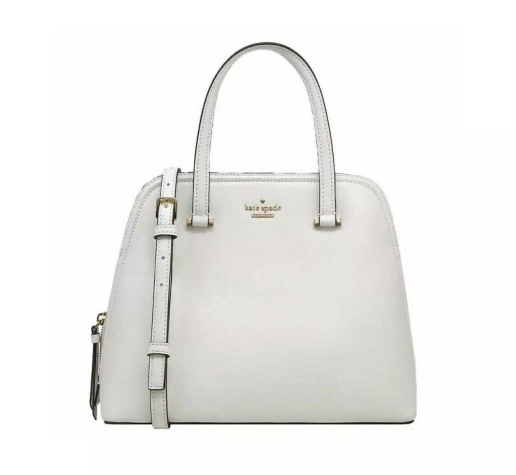 Patterson Drive Medium Dome Satchel (Bright White)
