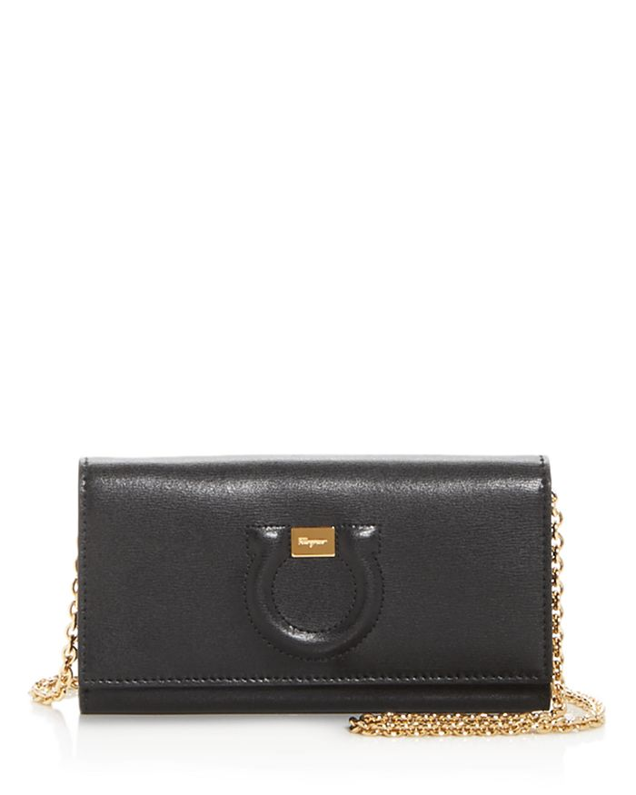 Gancini City Mini Leather Crossbody
