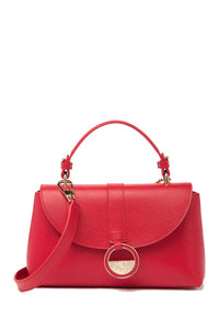 Saffiano Leather Crossbody