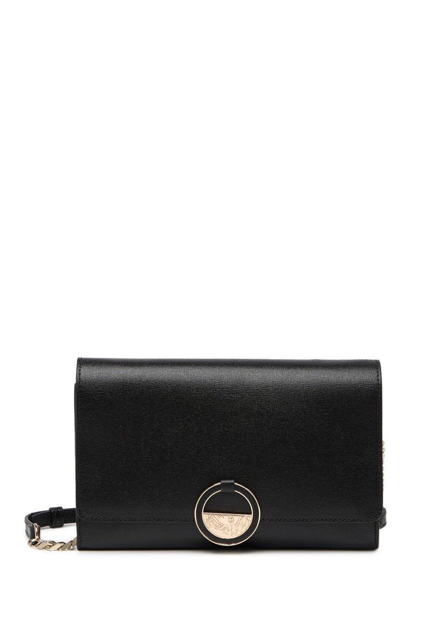 Saffiano Leather Satchel
