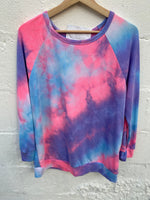 Like A Unicorn Tie Dye Top