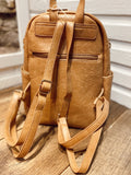 Tan LV Backpack