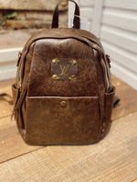 Brown LV Backpack