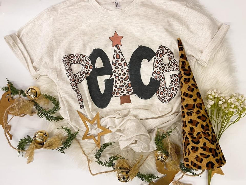 Peace On Earth Graphic Tee