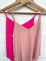 Shimmer And Shine Tank-Hot Pink