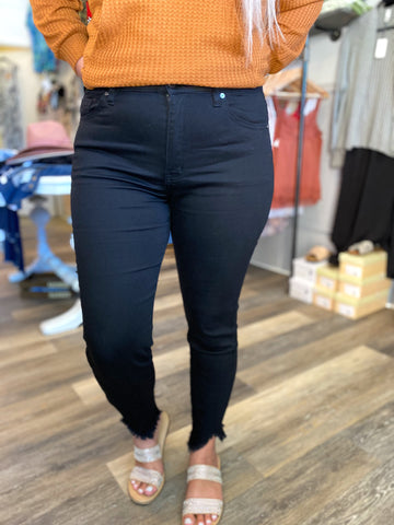 Stretch For Days Black Jeans