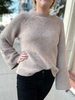 Natalie Bell Sleeve Sweater
